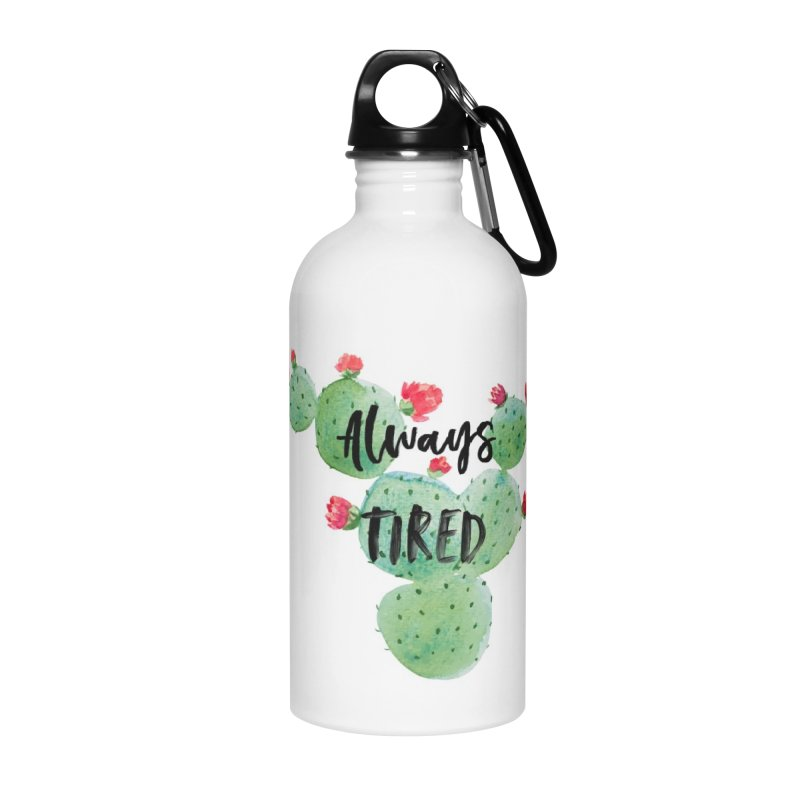 Tired! Accessories Water Bottle by gasponce