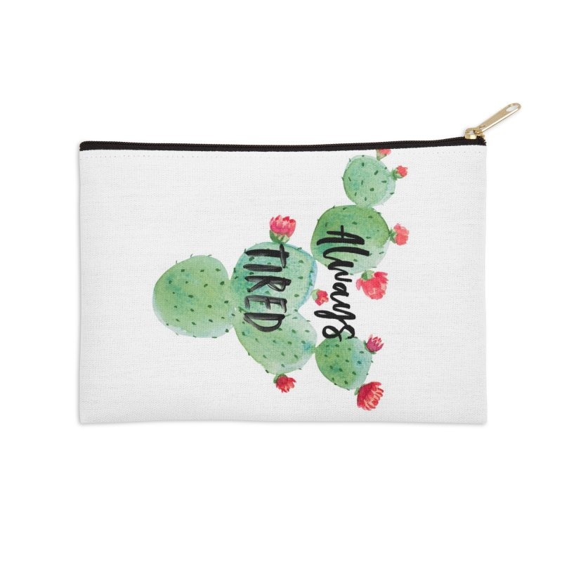 Tired! Accessories Zip Pouch by gasponce