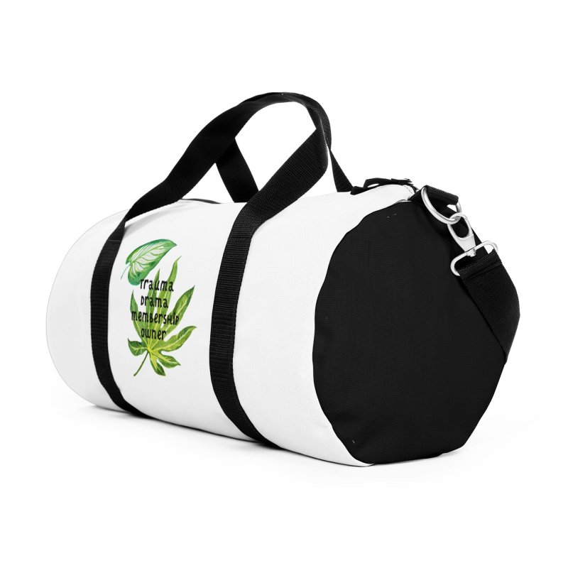 Trauma! Accessories Duffel Bag Bag by gasponce