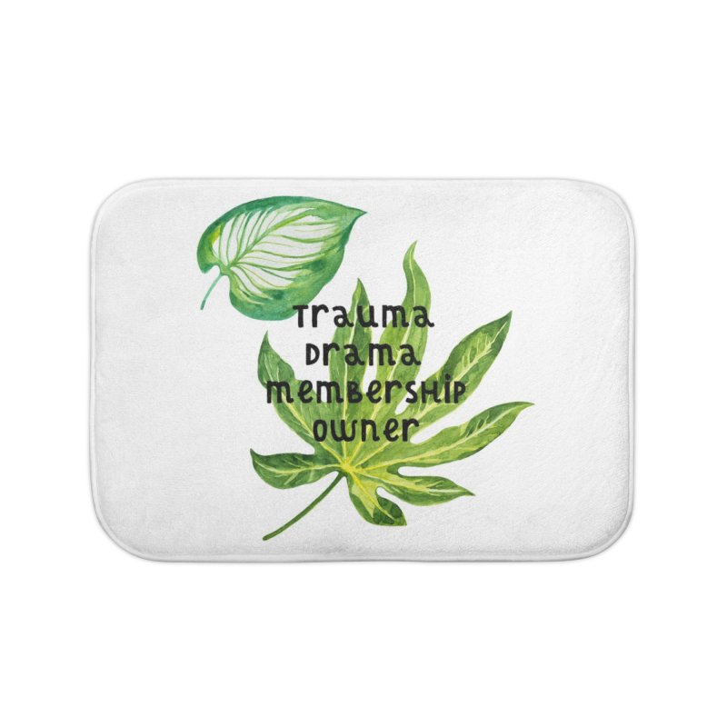 Trauma! Home Bath Mat by gasponce