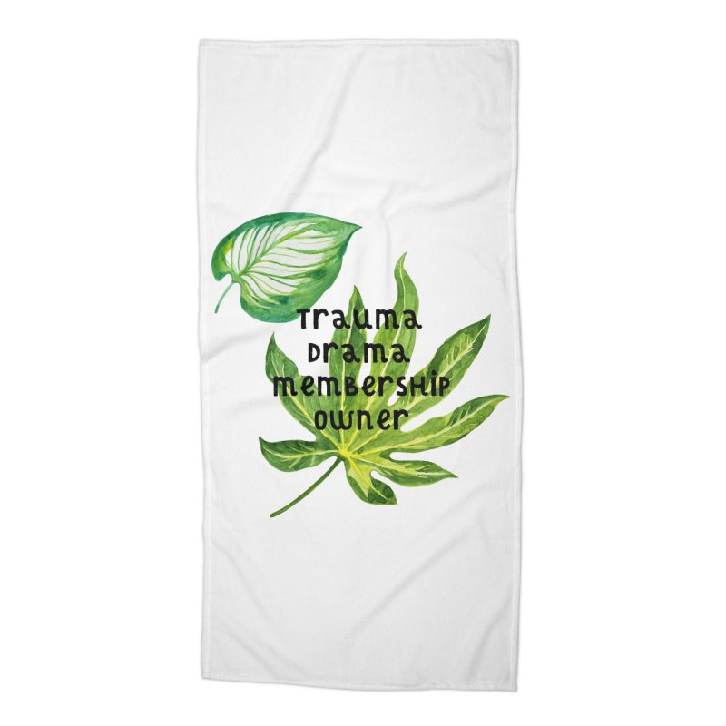 Trauma! Accessories Beach Towel by gasponce