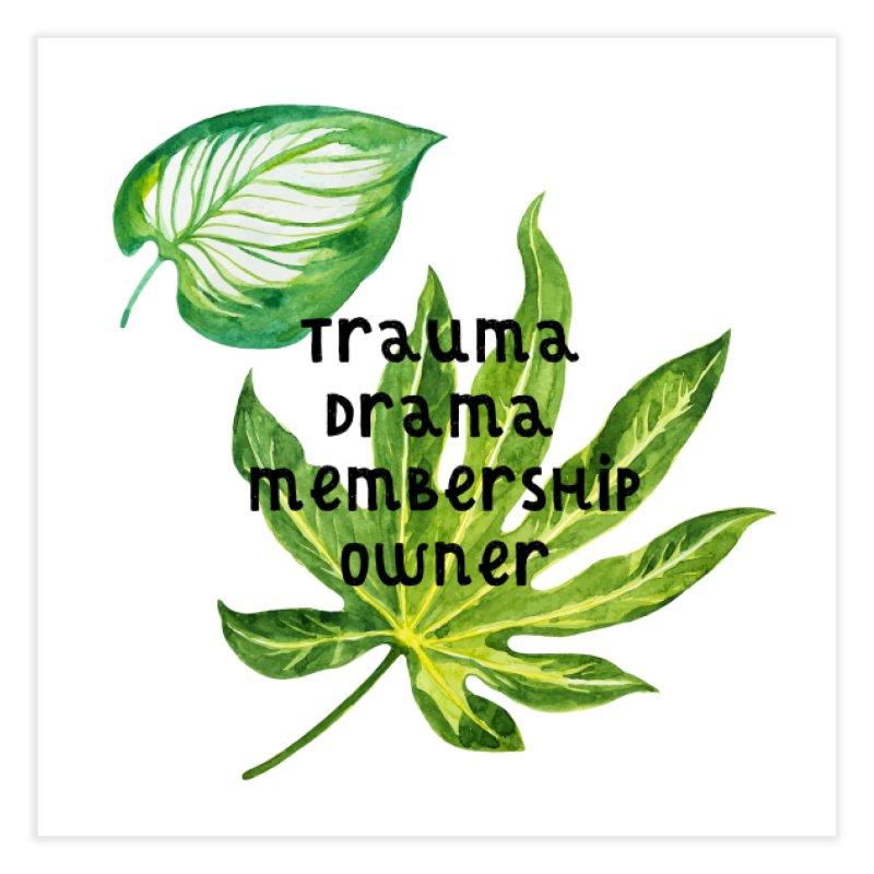 Trauma! Home Fine Art Print by gasponce