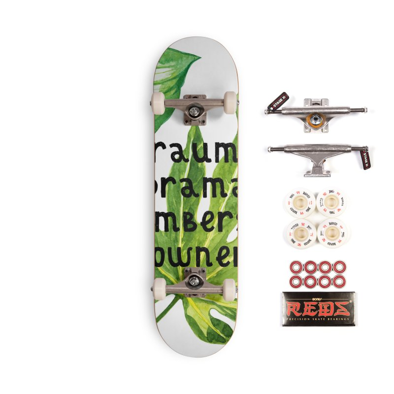 Trauma! Accessories Complete - Pro Skateboard by gasponce