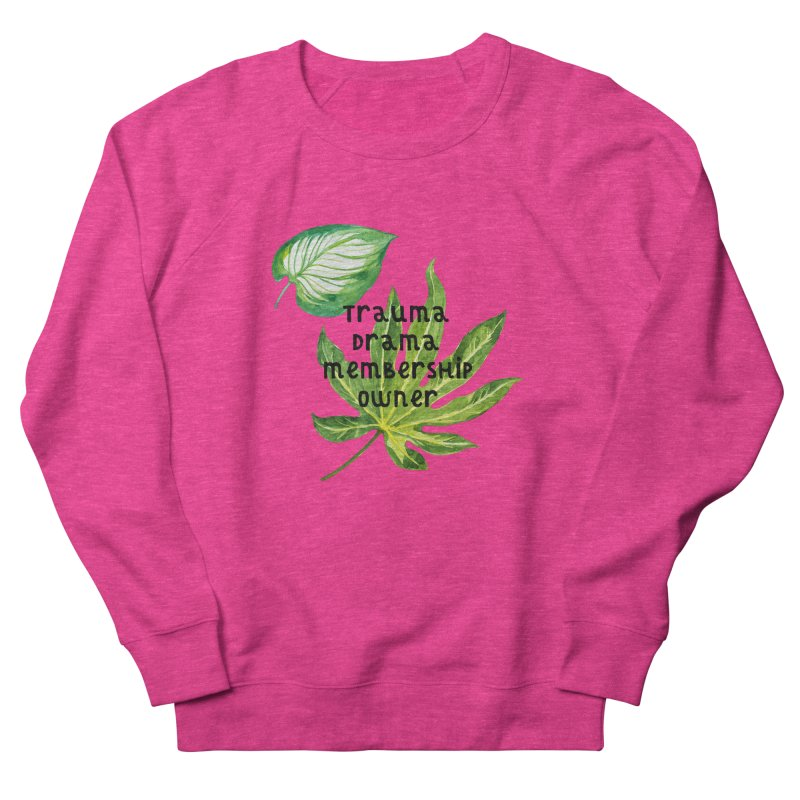 Trauma! Men's French Terry Sweatshirt by gasponce