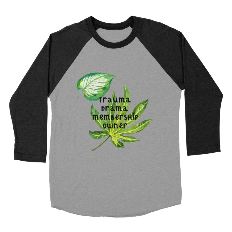 Trauma! Women's Baseball Triblend Longsleeve T-Shirt by gasponce