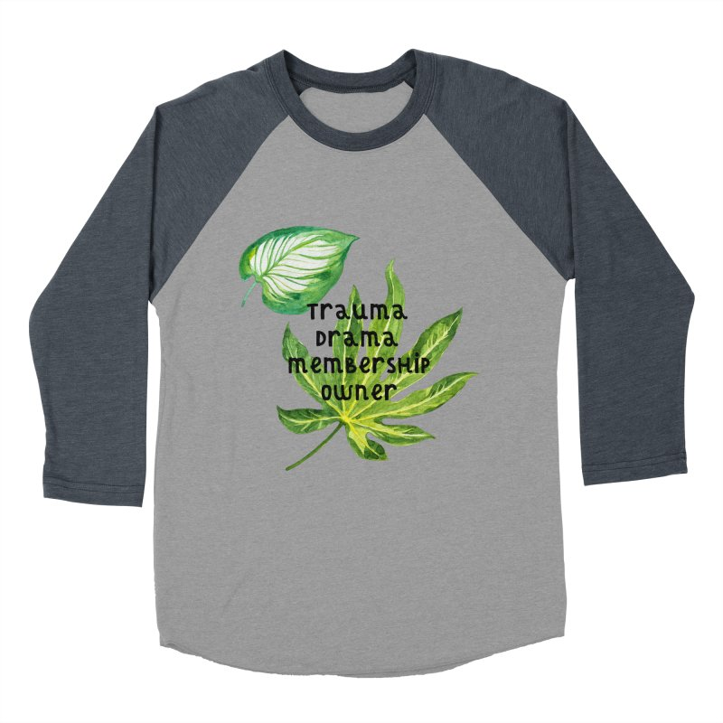 Trauma! Men's Baseball Triblend Longsleeve T-Shirt by gasponce