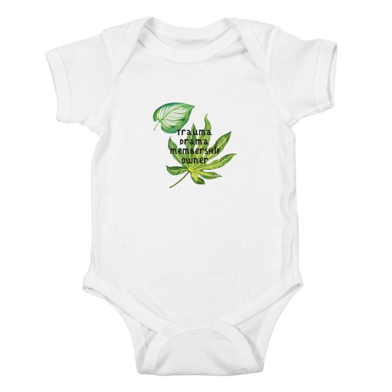 Trauma! Kids Baby Bodysuit by gasponce