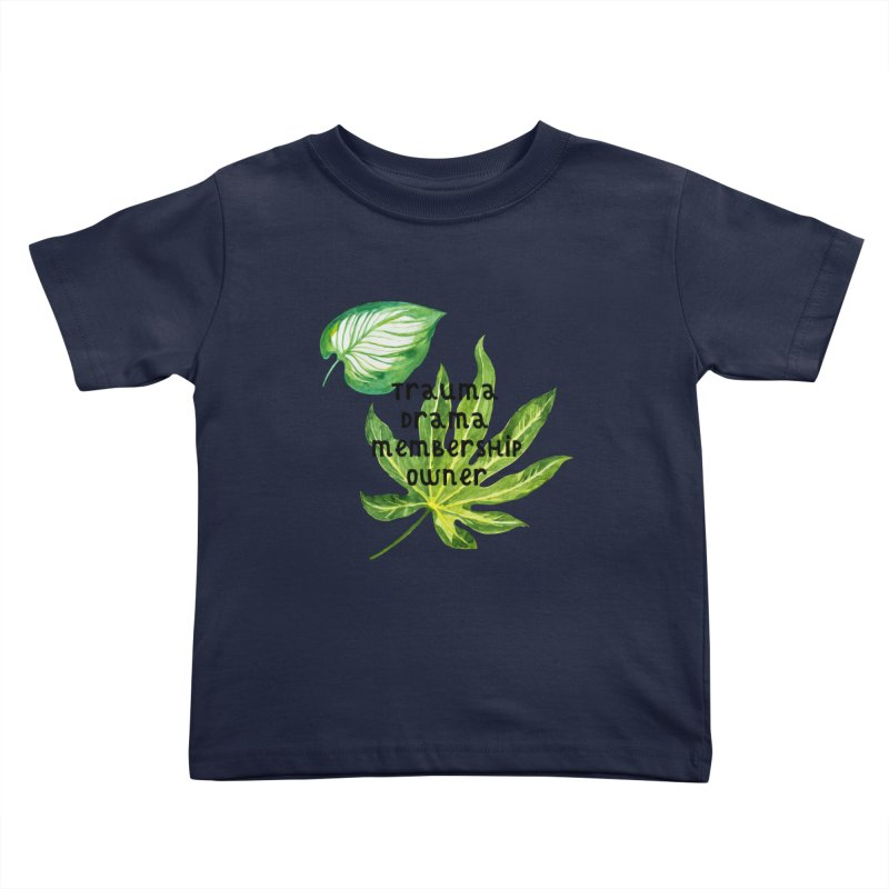 Trauma! Kids Toddler T-Shirt by gasponce