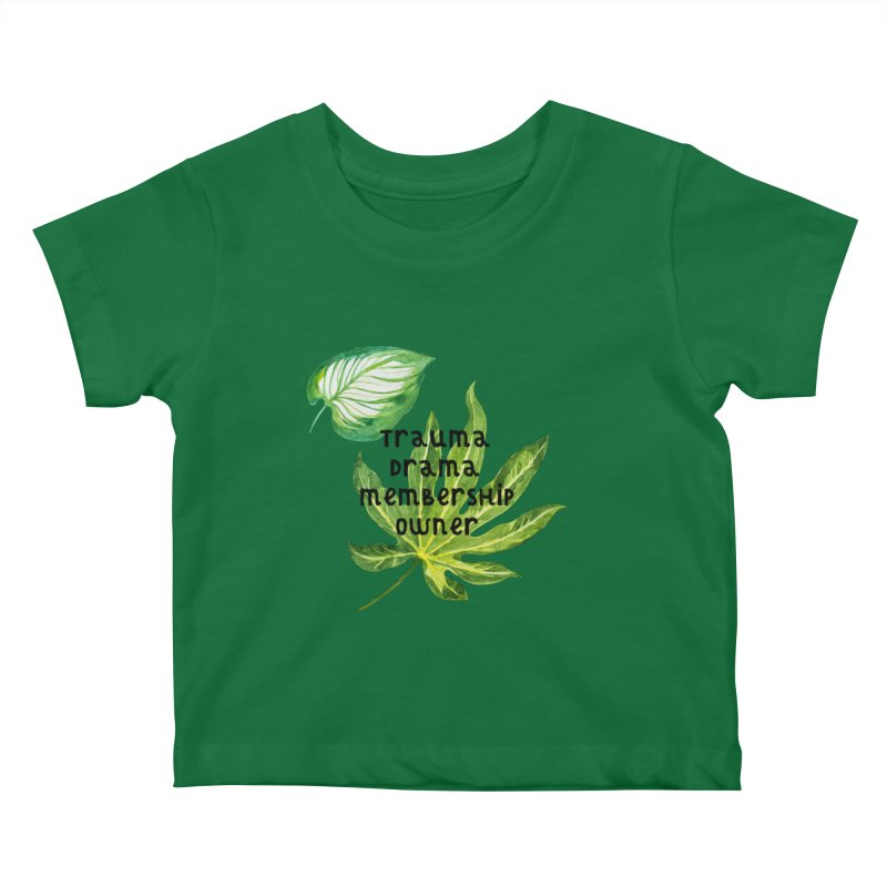 Trauma! Kids Baby T-Shirt by gasponce