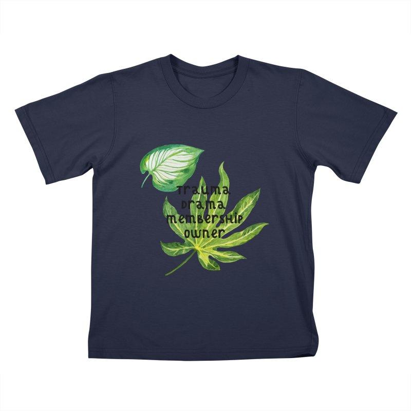 Trauma! Kids T-Shirt by gasponce