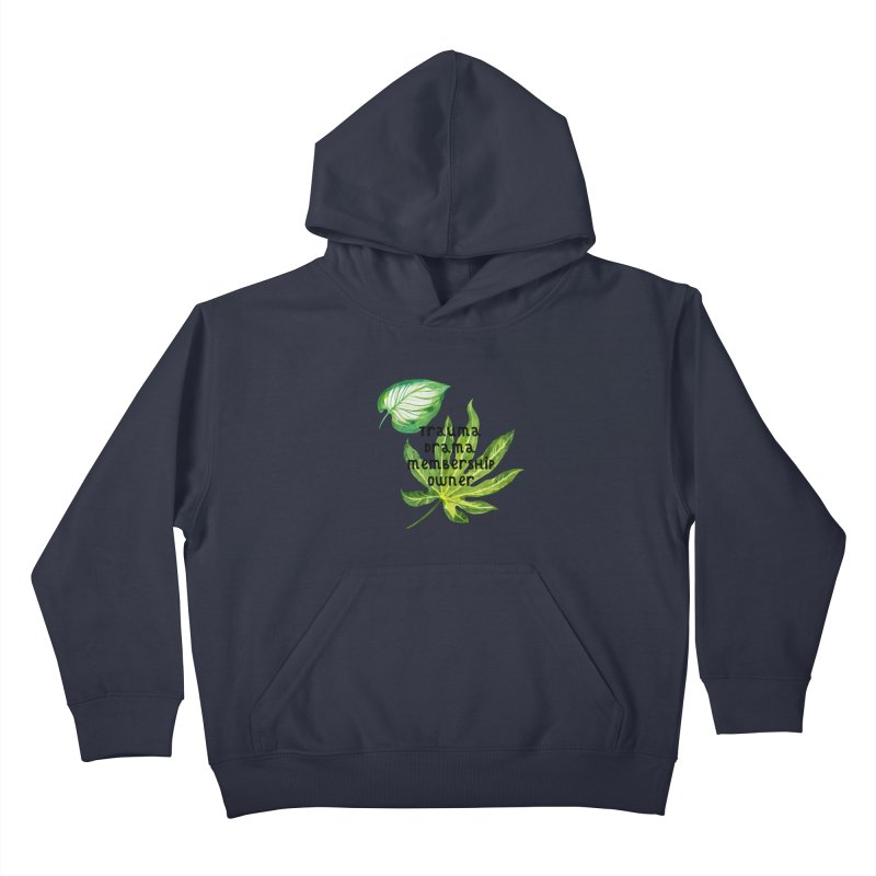 Trauma! Kids Pullover Hoody by gasponce
