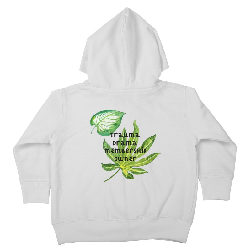 Trauma! Kids Toddler Zip-Up Hoody by gasponce