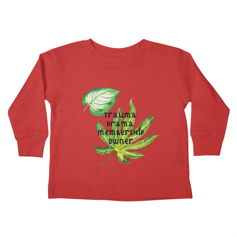 Trauma! Kids Toddler Longsleeve T-Shirt by gasponce