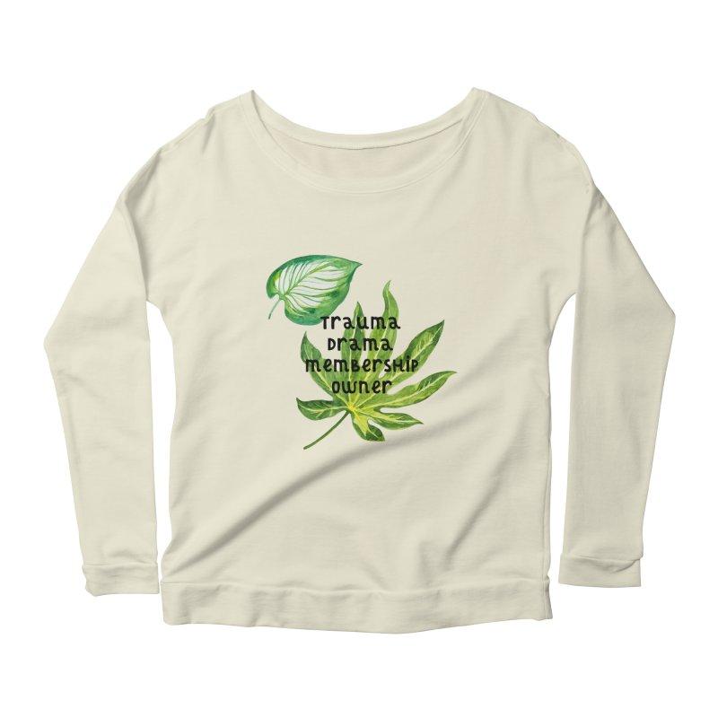 Trauma! Women's Scoop Neck Longsleeve T-Shirt by gasponce