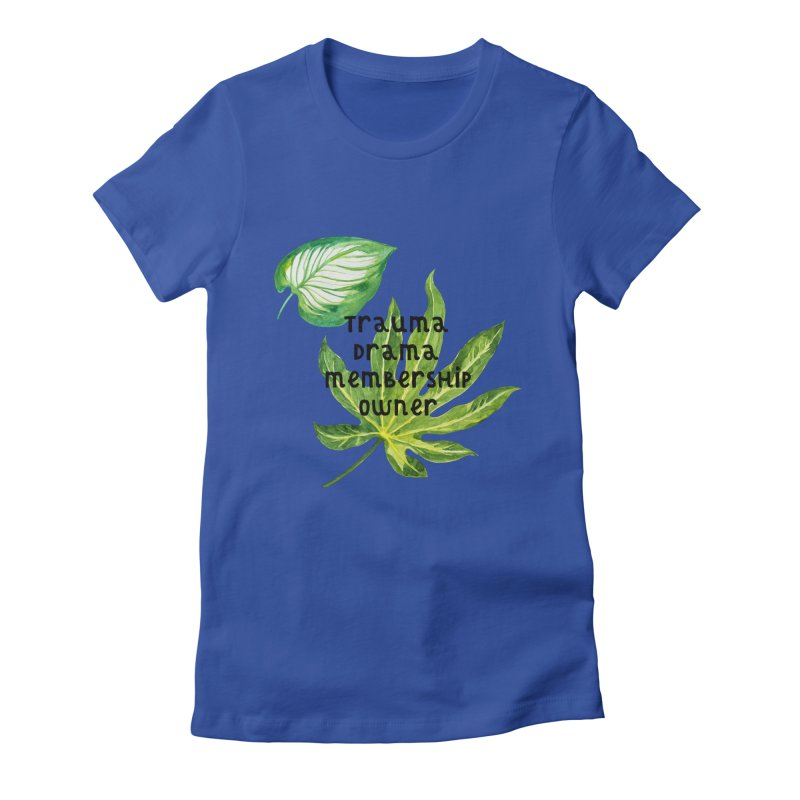 Trauma! Women's Fitted T-Shirt by gasponce