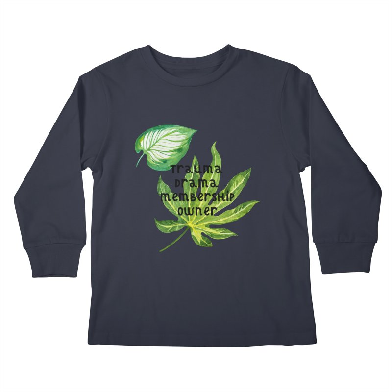 Trauma! Kids Longsleeve T-Shirt by gasponce