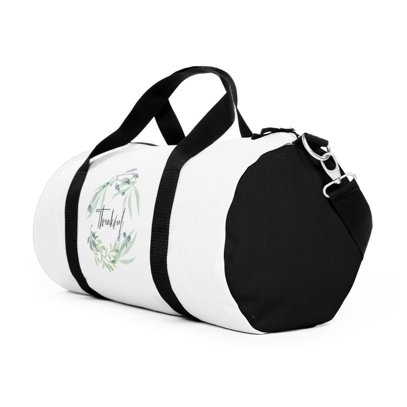 THANKS! Accessories Duffel Bag Bag by gasponce