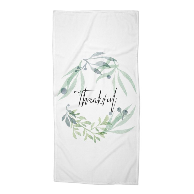 THANKS! Accessories Beach Towel by gasponce