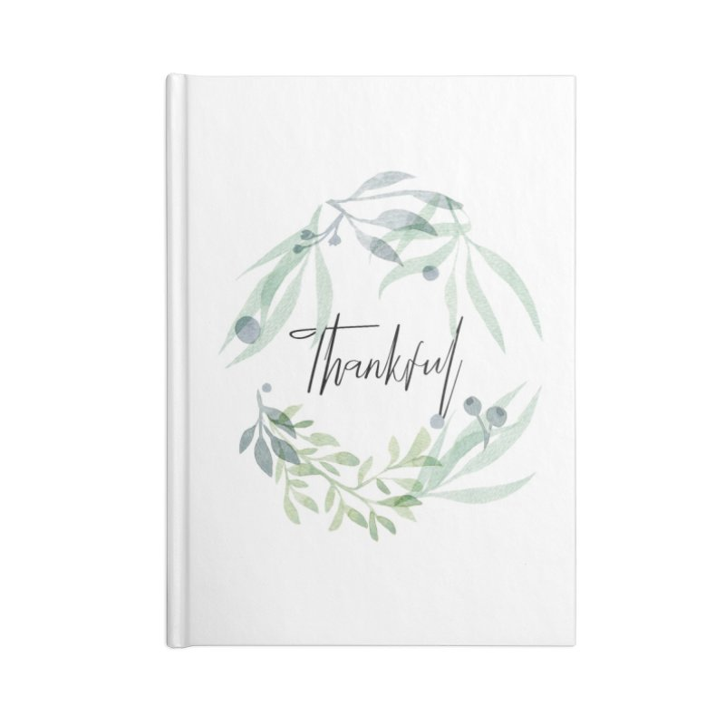 THANKS! Accessories Blank Journal Notebook by gasponce