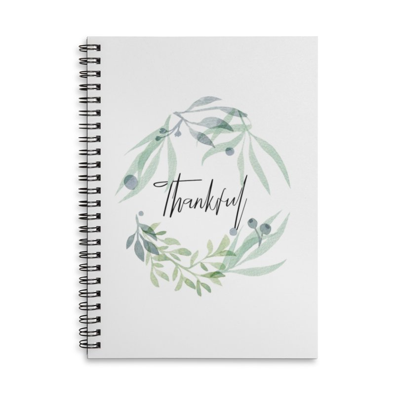 THANKS! Accessories Lined Spiral Notebook by gasponce