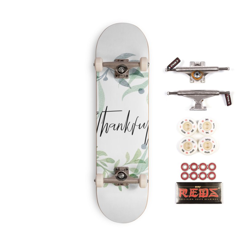 THANKS! Accessories Complete - Pro Skateboard by gasponce