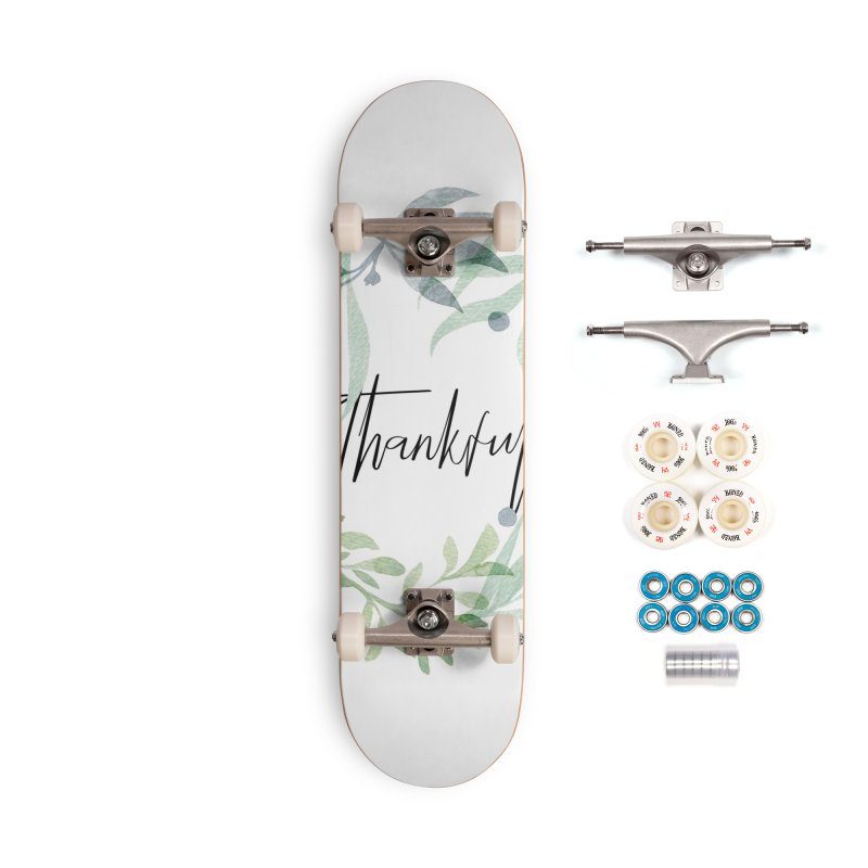 THANKS! Accessories Complete - Premium Skateboard by gasponce
