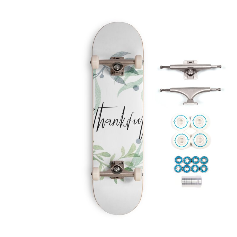 THANKS! Accessories Skateboard by gasponce