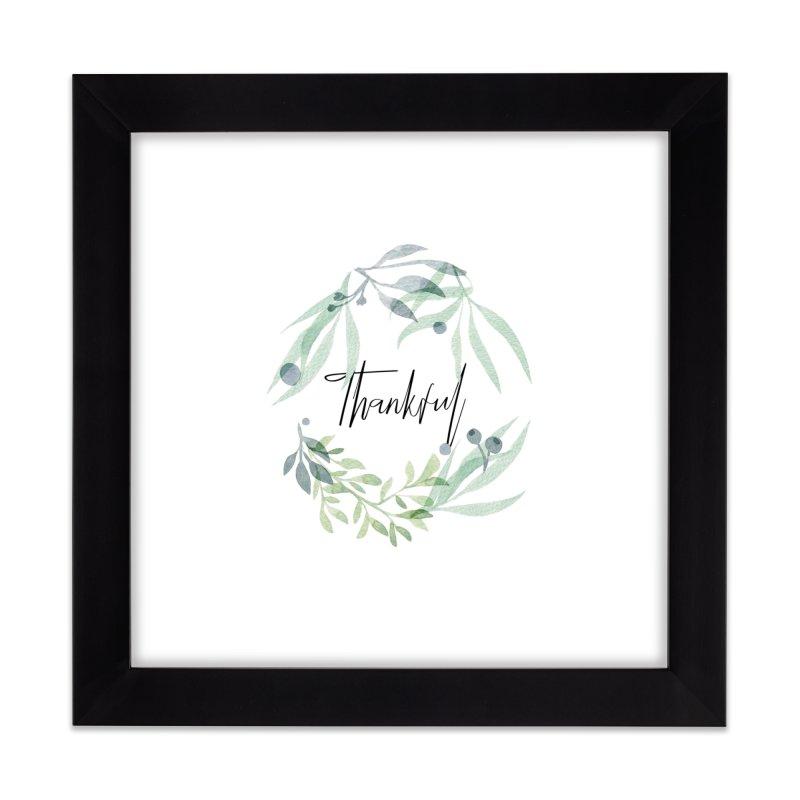 THANKS! Home Framed Fine Art Print by gasponce