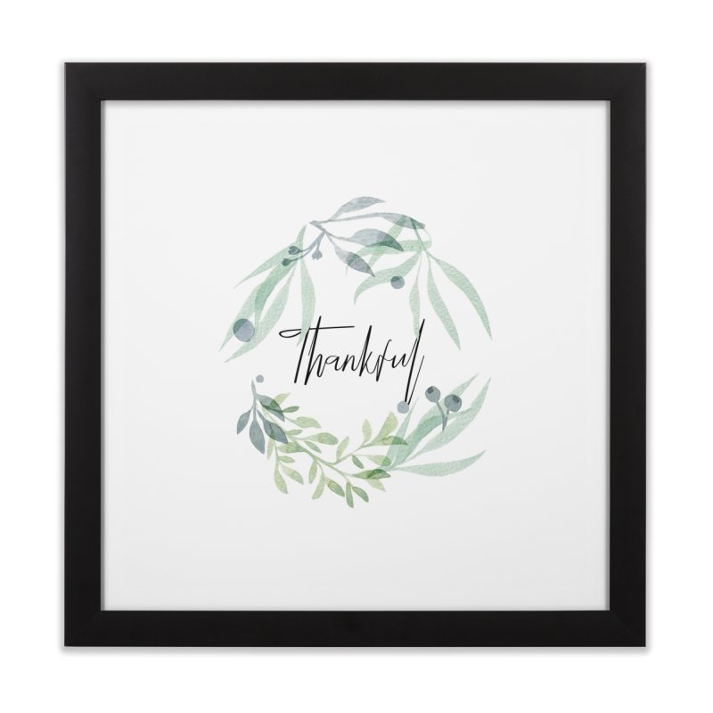 THANKS! Home Framed Fine Art Print by gasponce