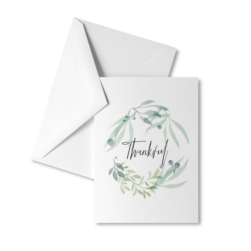 THANKS! Accessories Greeting Card by gasponce