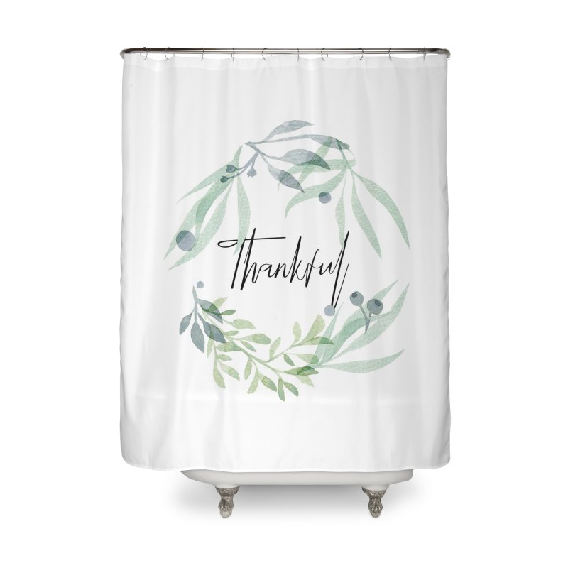 THANKS! Home Shower Curtain by gasponce