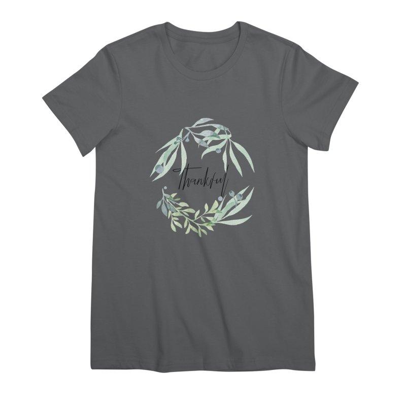 THANKS! Women's Premium T-Shirt by gasponce