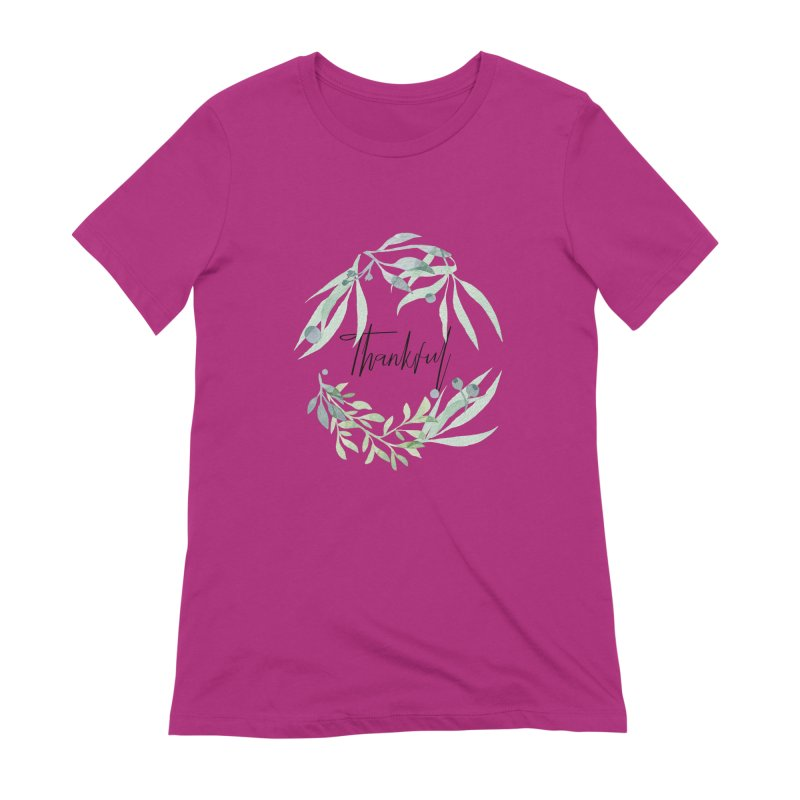 THANKS! Women's Extra Soft T-Shirt by gasponce