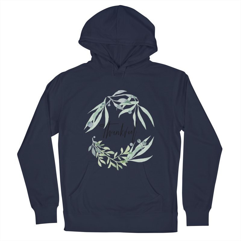 THANKS! Women's French Terry Pullover Hoody by gasponce