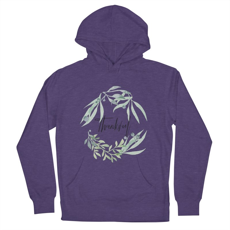 THANKS! Men's French Terry Pullover Hoody by gasponce