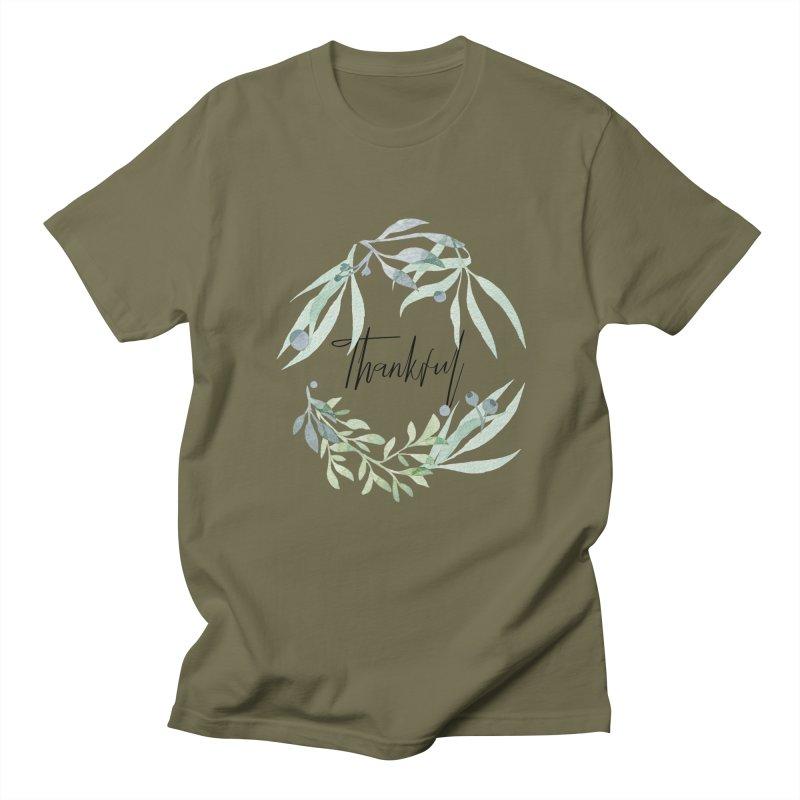 THANKS! Men's Regular T-Shirt by gasponce