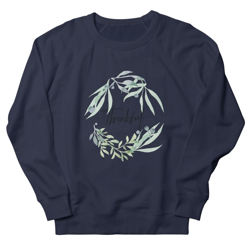 THANKS! Women's French Terry Sweatshirt by gasponce