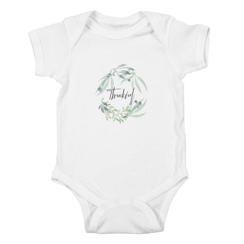 THANKS! Kids Baby Bodysuit by gasponce