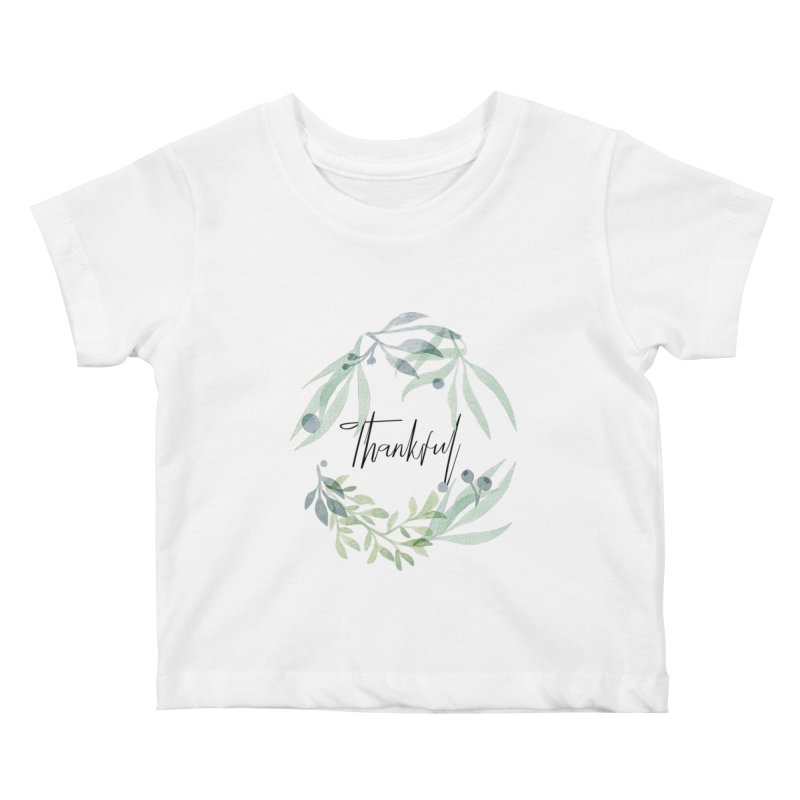 THANKS! Kids Baby T-Shirt by gasponce
