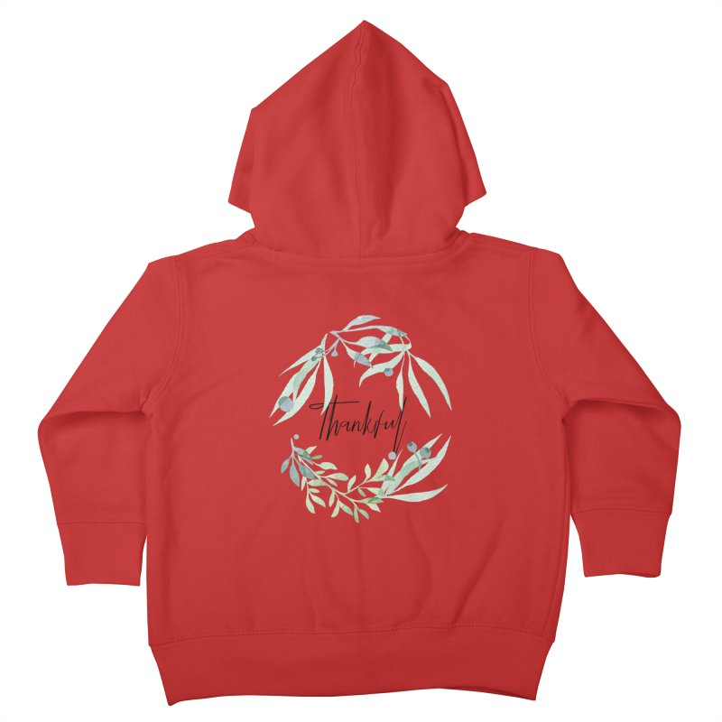 THANKS! Kids Toddler Zip-Up Hoody by gasponce