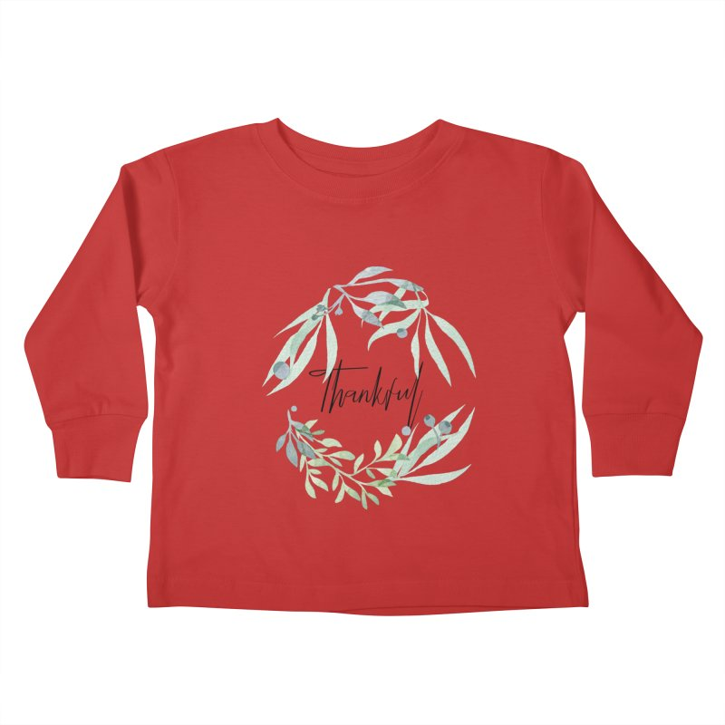 THANKS! Kids Toddler Longsleeve T-Shirt by gasponce