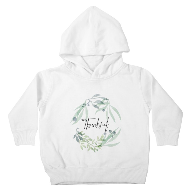 THANKS! Kids Toddler Pullover Hoody by gasponce