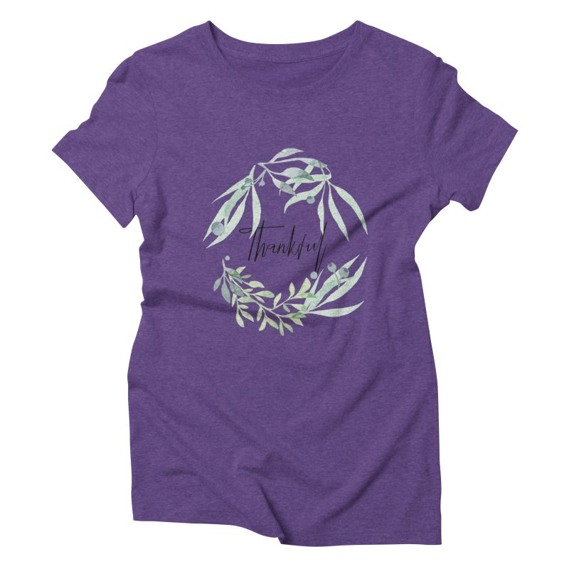 THANKS! Women's Triblend T-Shirt by gasponce