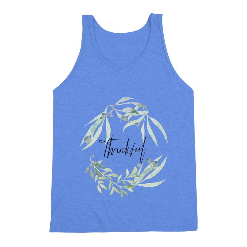 THANKS! Men's Triblend Tank by gasponce