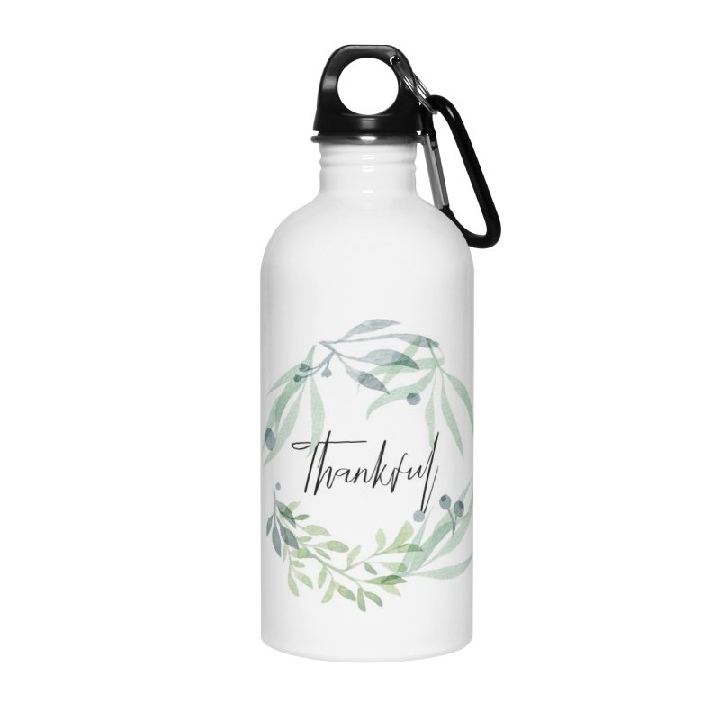 THANKS! Accessories Water Bottle by gasponce