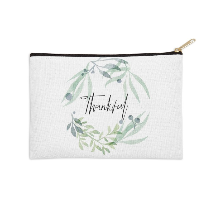 THANKS! Accessories Zip Pouch by gasponce