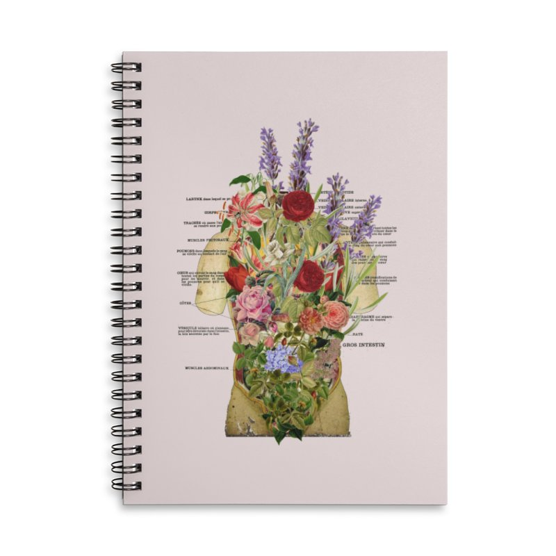 Growth -spring Accessories Lined Spiral Notebook by gasponce