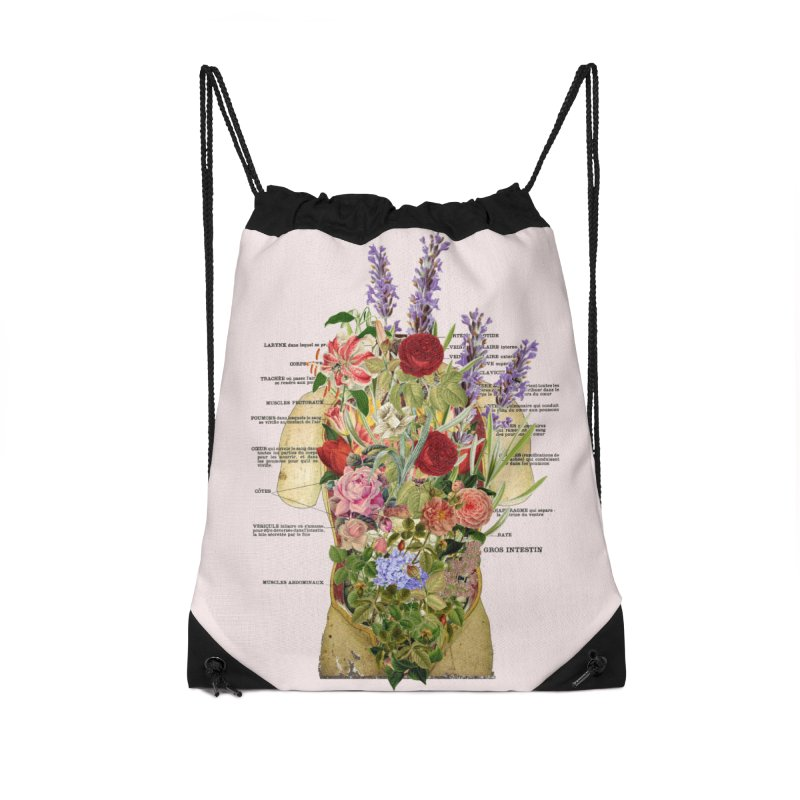 Growth -spring Accessories Drawstring Bag Bag by gasponce