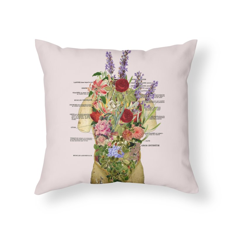 Growth -spring Home Throw Pillow by gasponce