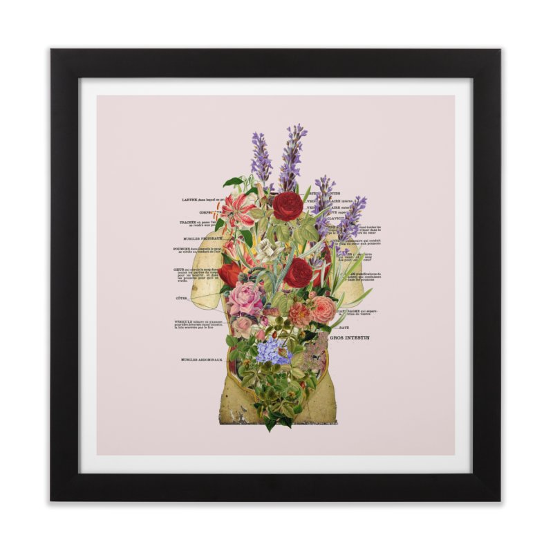 Growth -spring Home Framed Fine Art Print by gasponce
